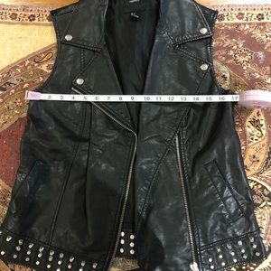 F21 Leather Vest
